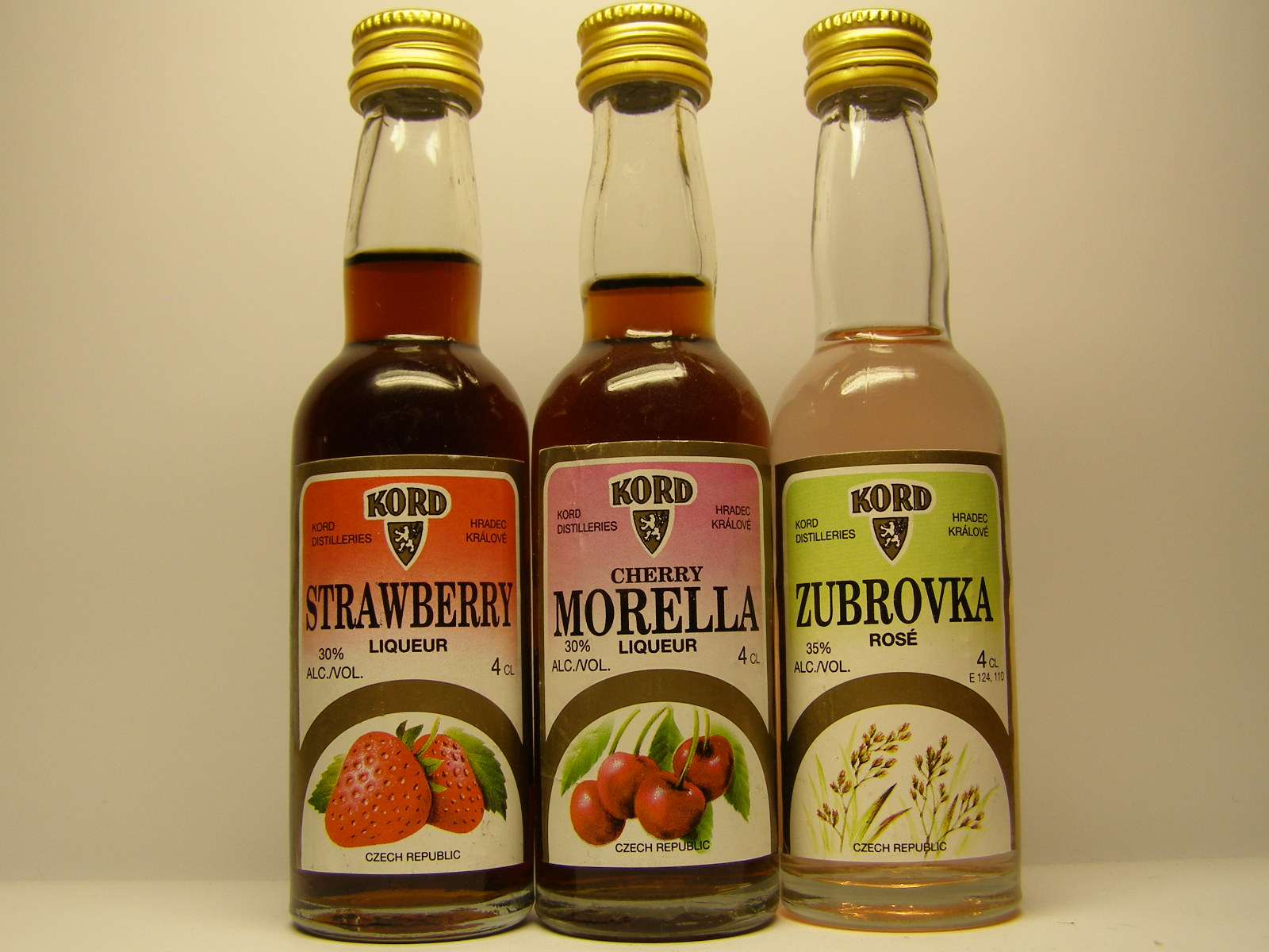 KORD Strawberry - Morella - Zubrovka