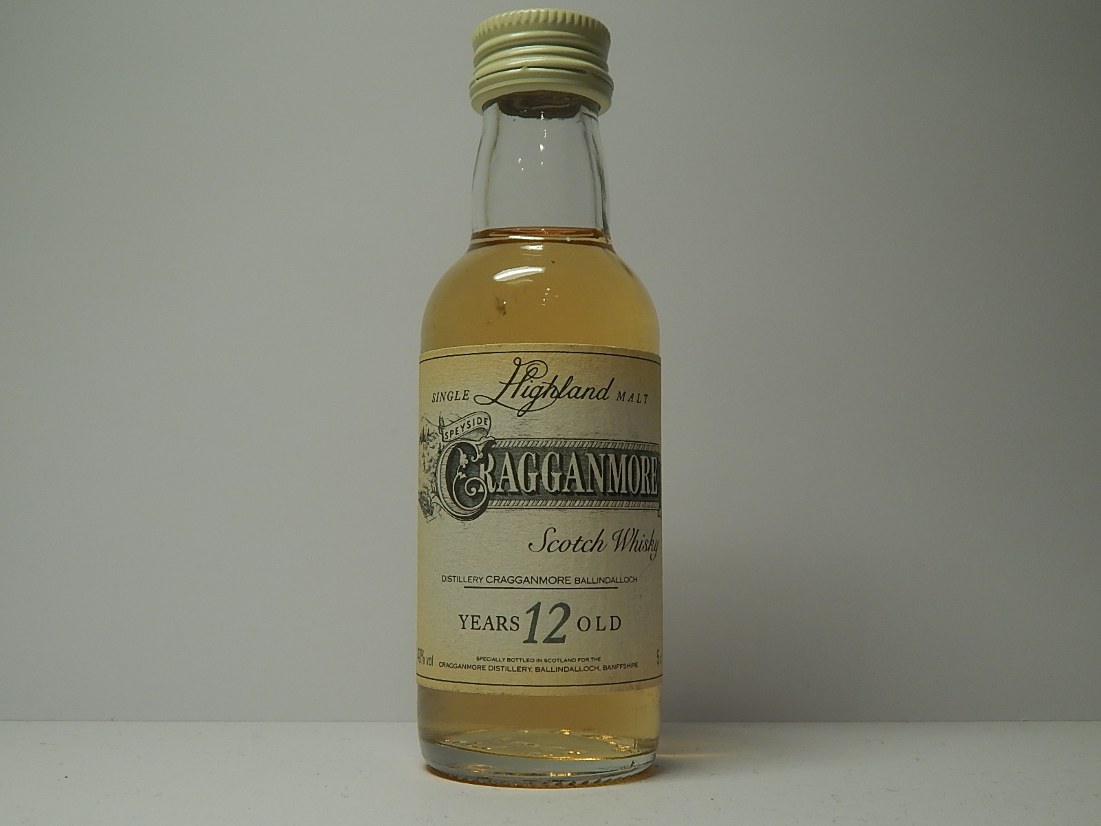 images of Shmsw 12yo 5cl 40 Vol
