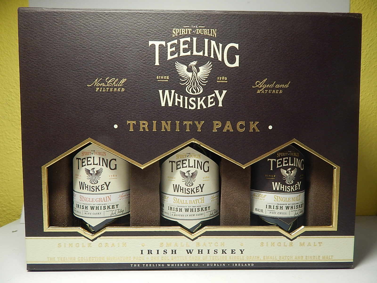 TEELING Single Grain - Small Batch - Single Malt Irish Whiskey