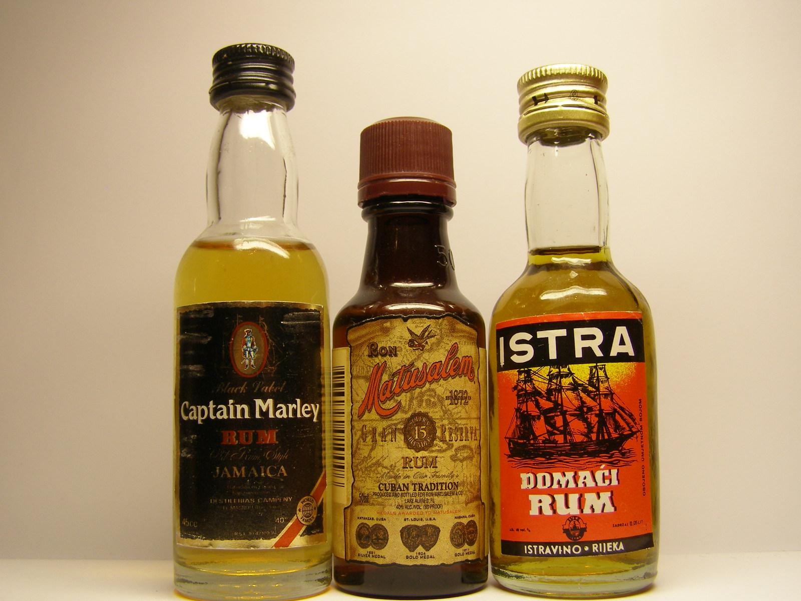 Rum Big Bottle