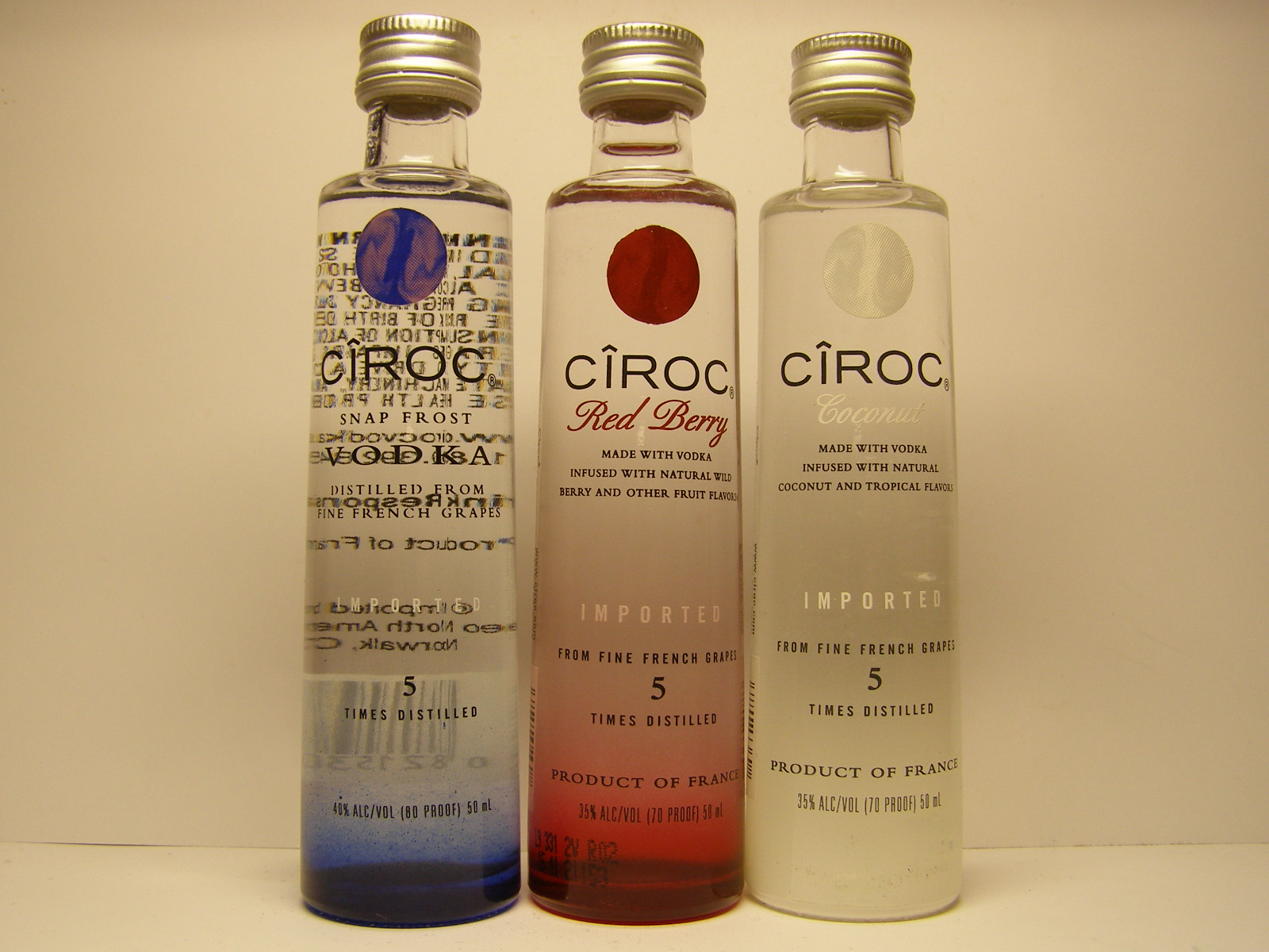 CIROC Vodka - Red Berry - Coconut